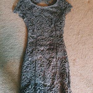 Grey Lulus dress